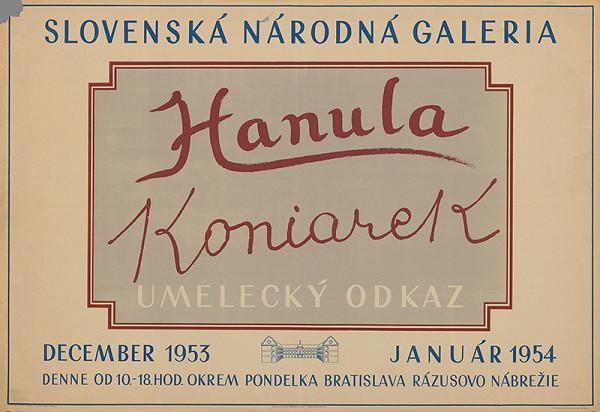Anton Hollý – Hanula-Koniarek-umelecký odkaz