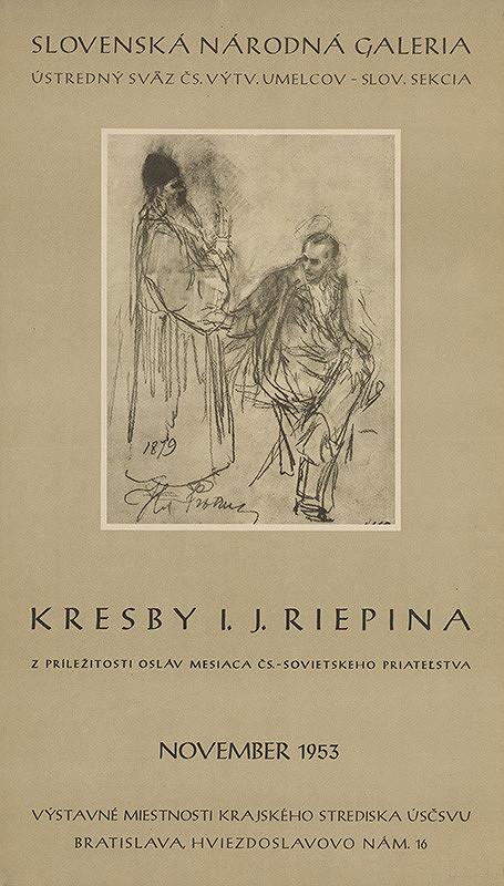 Slovenský autor – Kresby I.J.Riepina