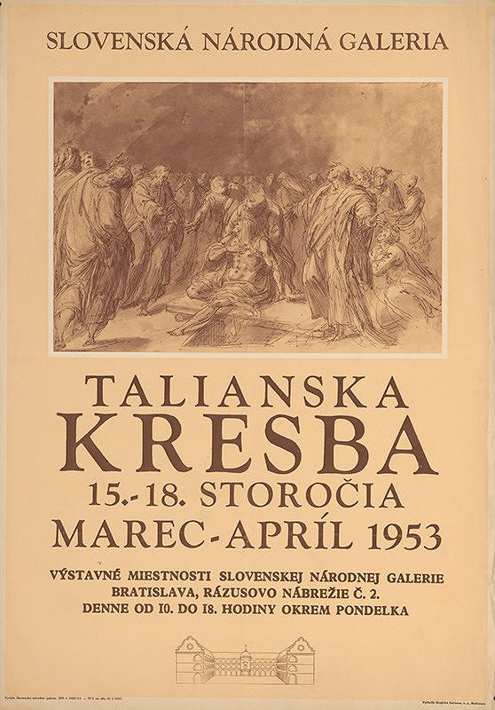 Slovenský autor – Talianska kresba XV.-XVIII.storočia