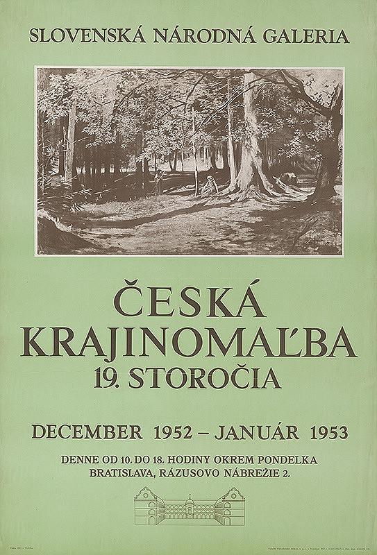 Slovenský autor – Česká krajinomaľba XIX.stor.