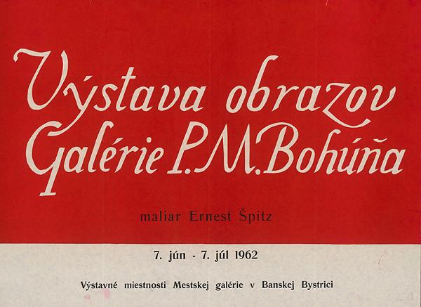Slovenský autor – Výstava obrazov - Ernest Špitz