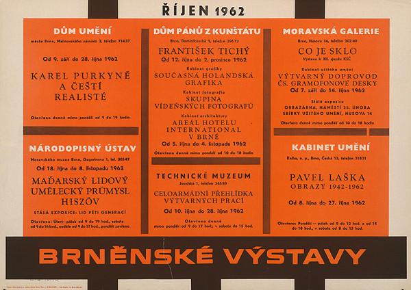 Moravský autor - Brnenské výstavy