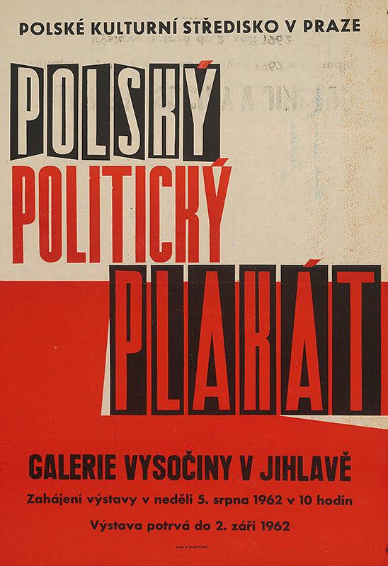 Moravský autor – Poľský politický plagát