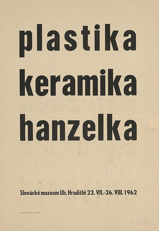 Moravský autor - Plastika,keramika-Hanzelka