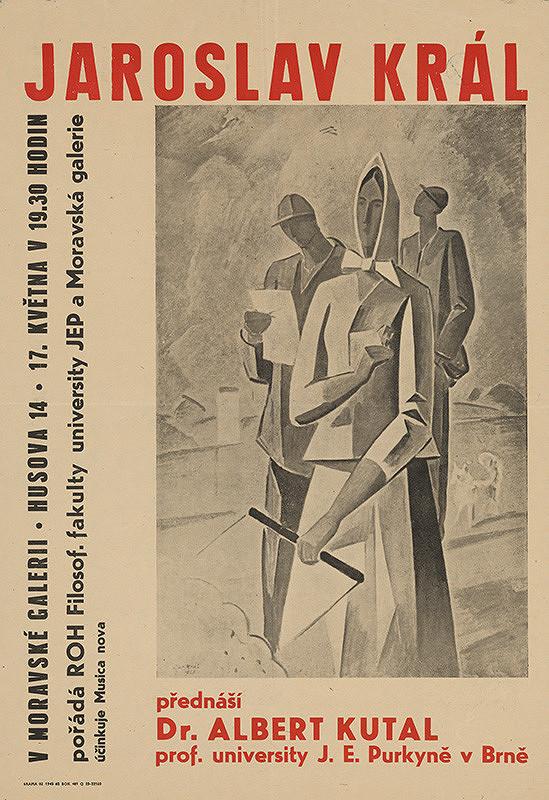 Moravský autor - Jaroslav Kráľ-výstava