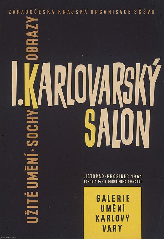 Český autor - I.Karlovarský salón-sochy,obrazy,užité umenie