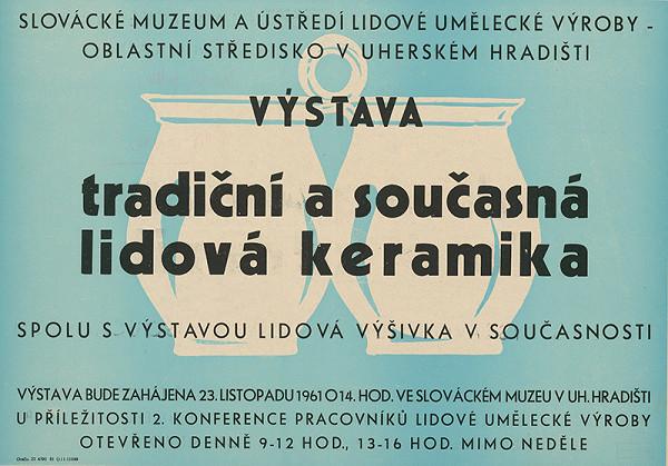 Český autor - Tradičná a súčasná ľudová keramika