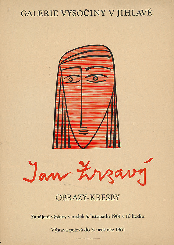 Jihlavský autor – Obrazy,kresby-Ján Zrzavý