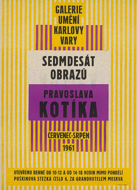 Neznámy autor – 70 obrazov Branislava Kotíka