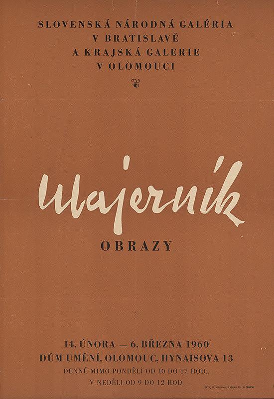 Olomoucký autor – Obrazy - Majerník