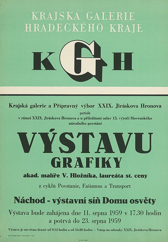 Český autor - Grafika - Hložník