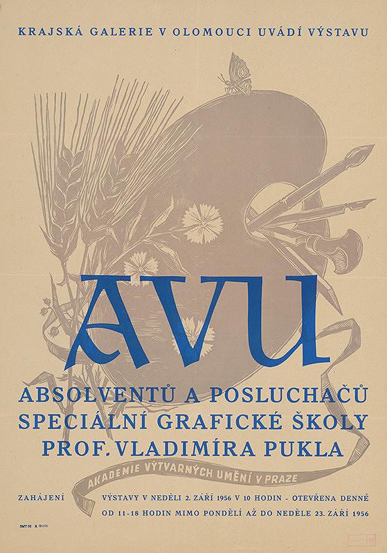 Olomoucký autor - Výstava Akadémie výtvarných umení
