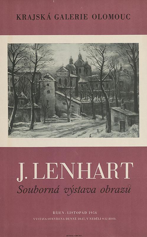 Olomoucký autor – Súborná výstava obrazov - J.Lenhart