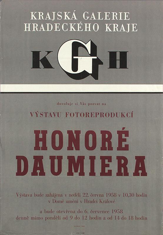Český autor - Výstava fotoreprodukcií - Honoré Daumiera