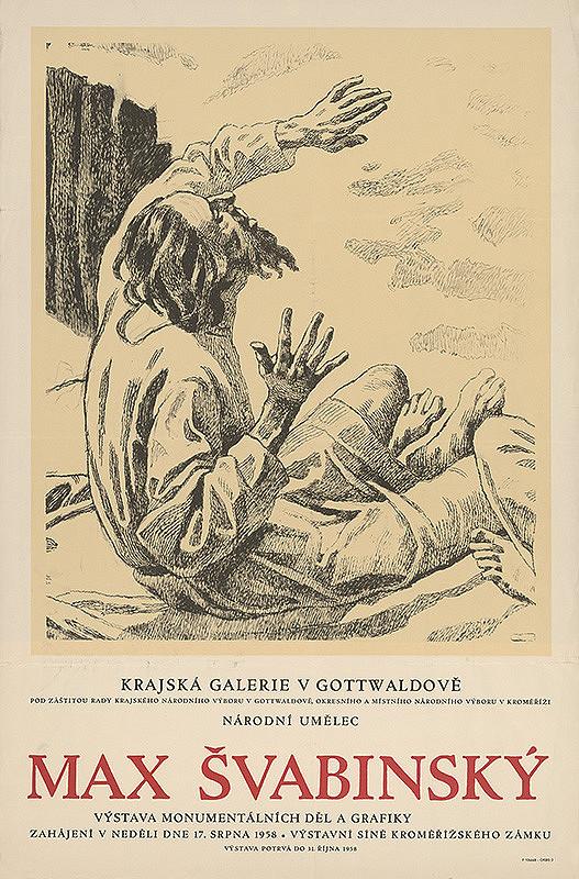 Moravský autor - Výstava monumentálnych diel a grafiky - M.Švabinský