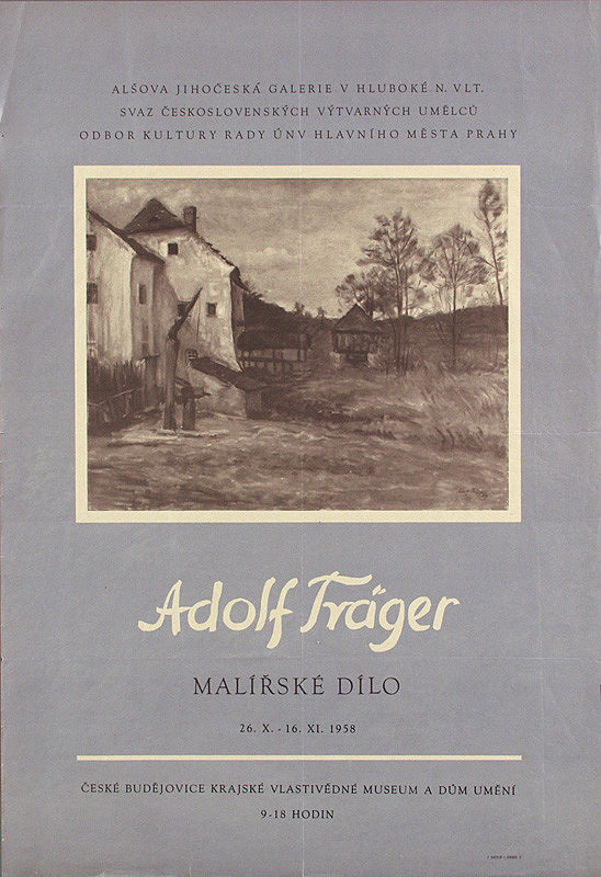 Český autor - Maliarske dielo - Adolf Träger