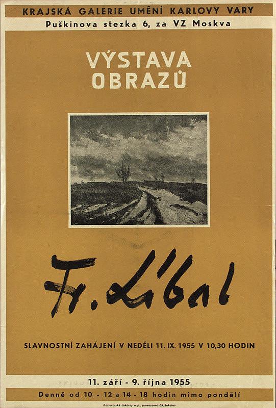 Český autor - Výstava obrazov - František Líbal