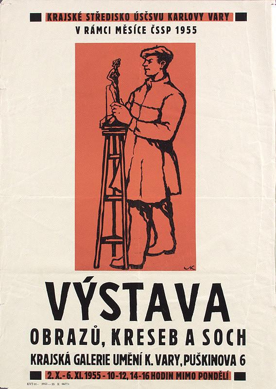 Český autor - Výstava obrazov,kresieb,sôch
