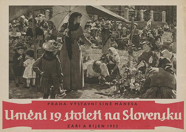 Český autor - Výstava-Slovenské maliarstvo XIX.stor.