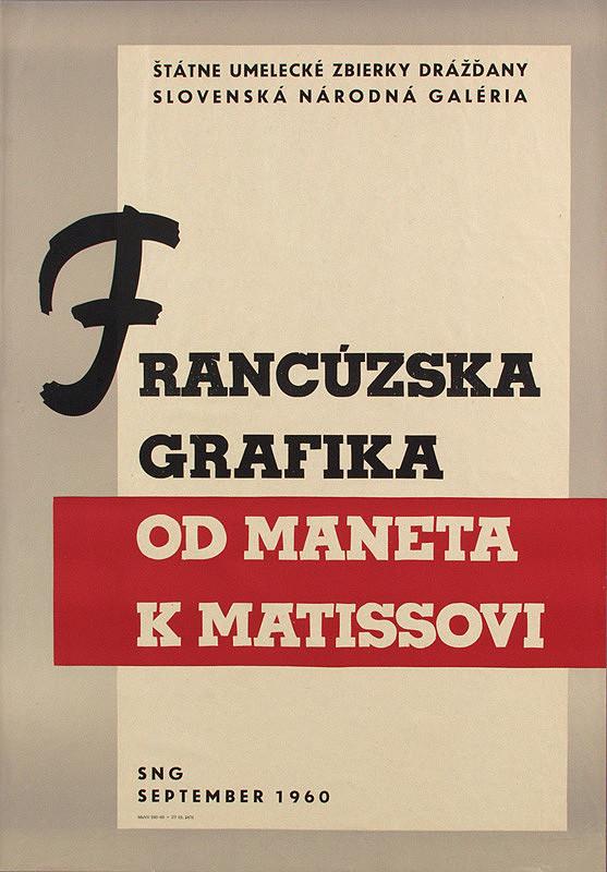 Rudolf Fila - Francúzska grafika od Maneta k Matisovi