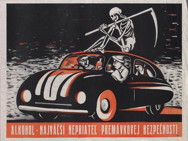 Slovenský autor – Alkohol najväčší nepriateľ premávkovej bezpečnosti