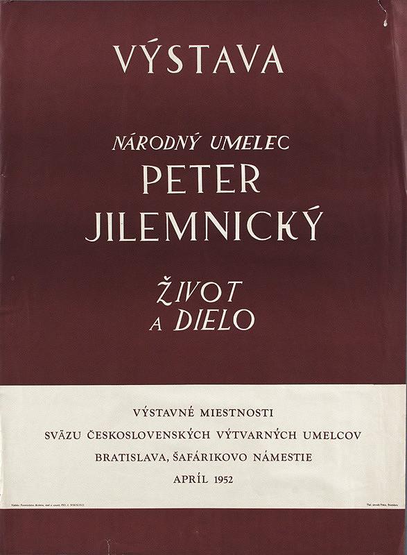 Slovenský autor – Výstava - Peter Jilemnický
