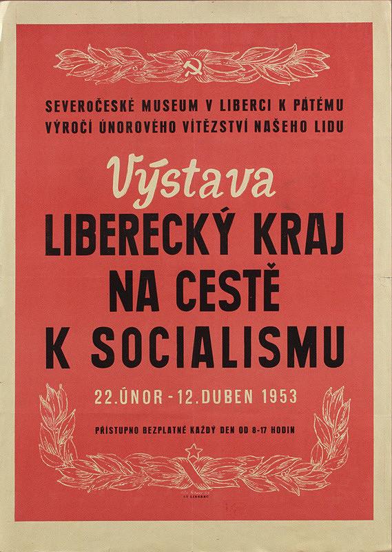 Alexander Beran - Výstava - liberecký kraj na ceste k socializmu