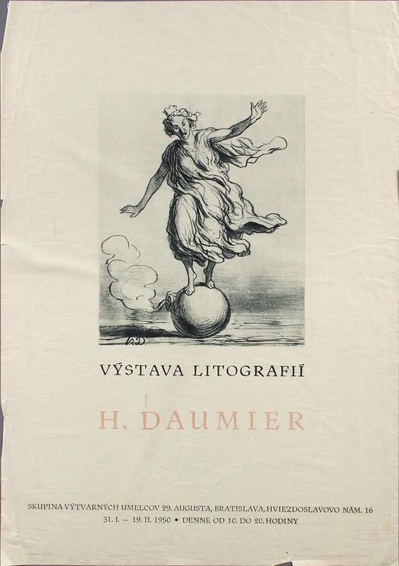 Slovenský autor – Výstava litografií H.Daumiera