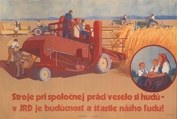Slovenský autor – Stroje v JRD