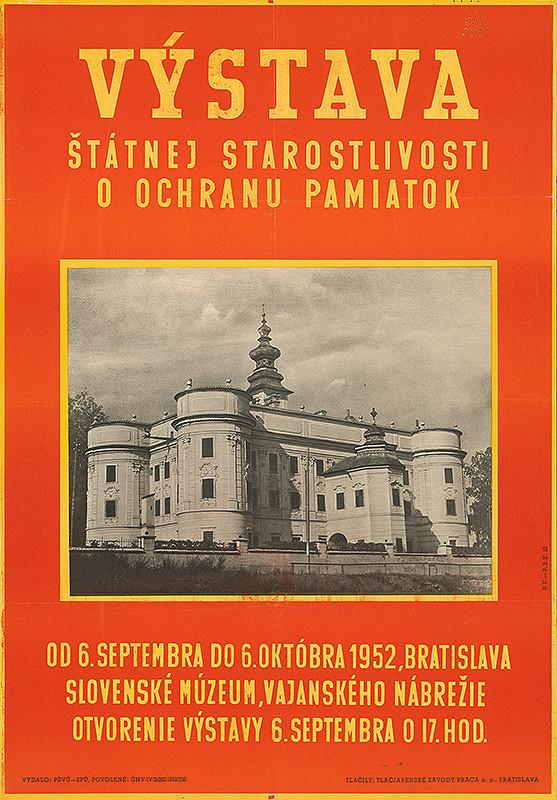 Slovenský autor - Výstava štátnej starostlivosti o ochranu pamiatok
