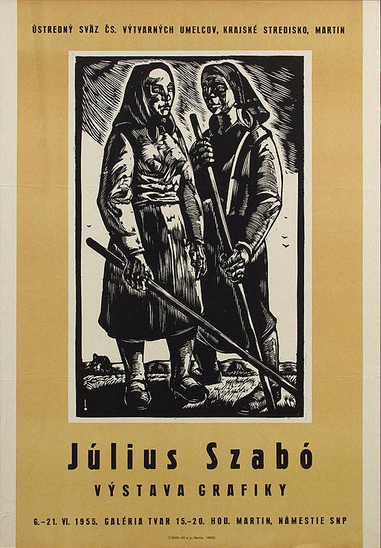 Slovenský autor – Výstava grafiky - Július Szabó
