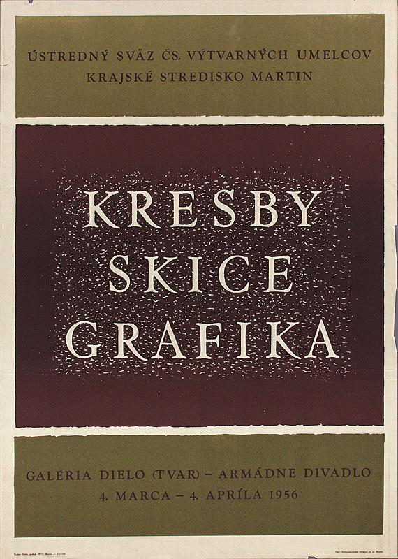 Slovenský autor – Kresby,skice,grafika