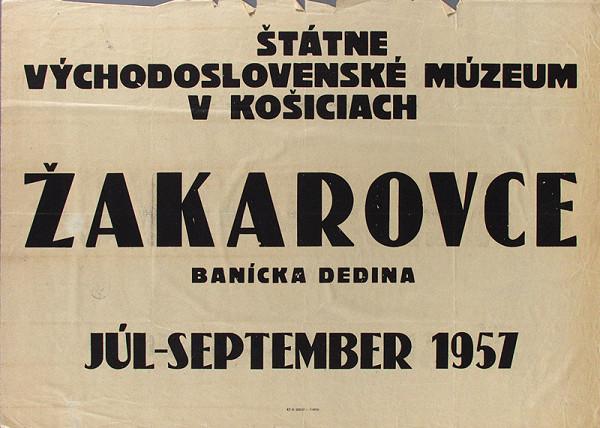 Slovenský autor – Žakarovce-banícka dedina