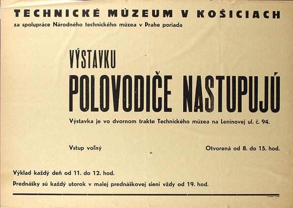 Slovenský autor – Výstava-Polovodiče nastupujú