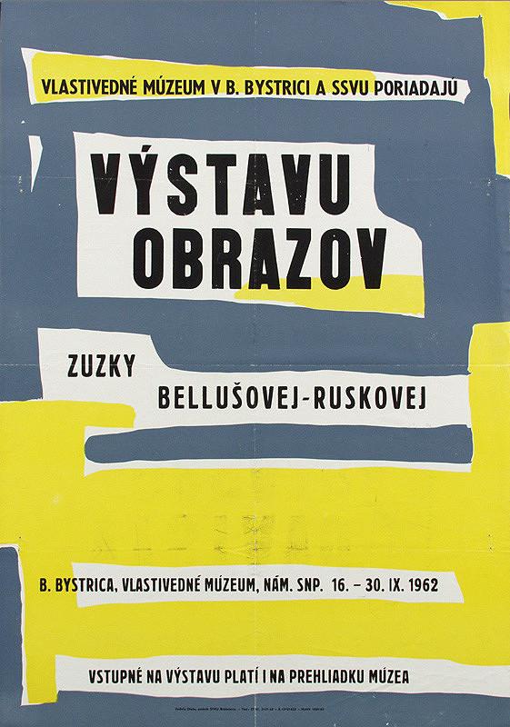 Slovenský autor – Výstava obrazov Zuzky Bellušovej - Ruskovej