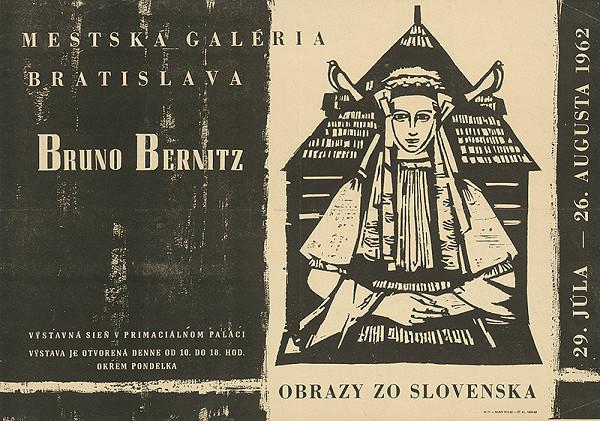 Slovenský autor – Obrazy zo Slovenska - Bruno Bernitz