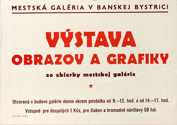 Slovenský autor – Výstava obrazov a grafiky