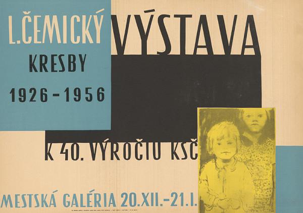 Slovenský autor – Kresby L.Čemický k 40.výročiu KSČ