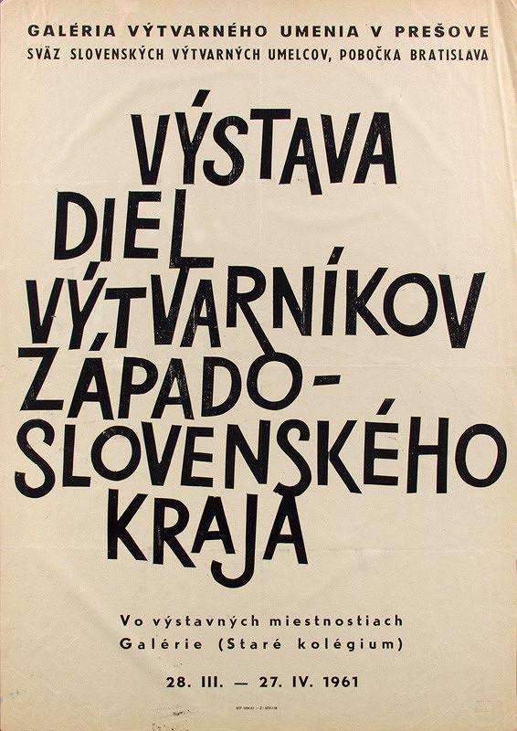 Slovenský autor – Výstava diel výtvarníkov Západoslovenského kraja