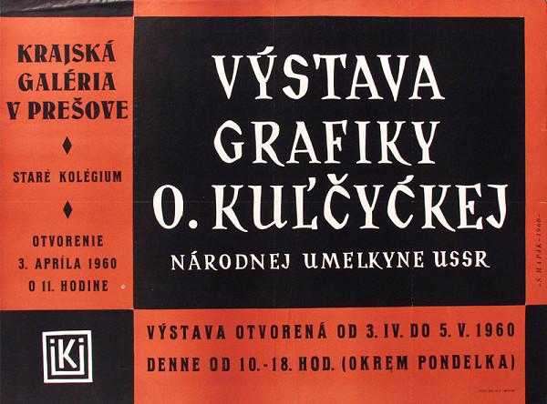 Štefan Hapák – Výstava grafiky - O.Kulčickej