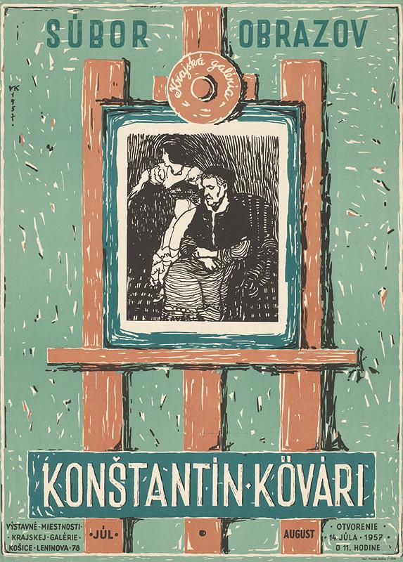 Slovenský autor - Súbor obrazov - Konštantín Kövari