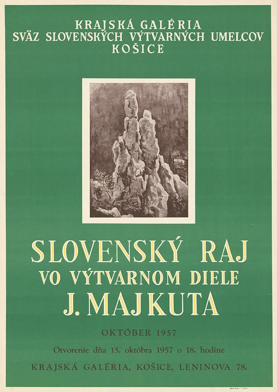 Slovenský autor - Slovenský Raj vo výtvarnom diele J.Majkuta