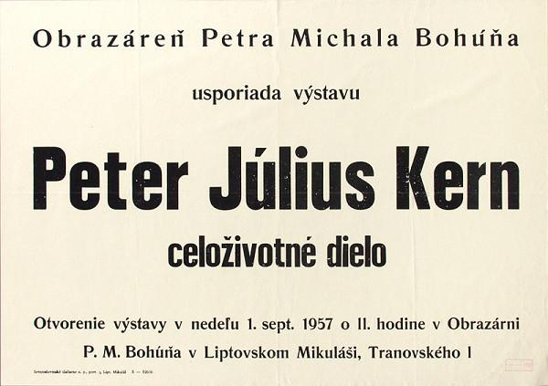 Slovenský autor – Celoživotné dielo-Peter Július Krén