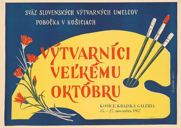 Štefan Hapák - Výtvarníci veľkému Októbru