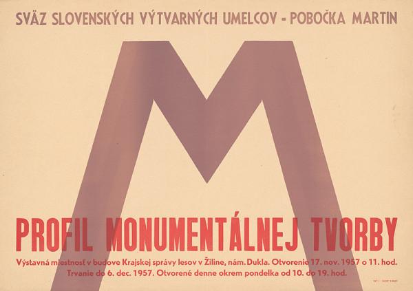 Slovenský autor - Profil monumentálnej tvorby