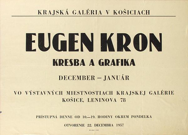 Slovenský autor - Kresba a grafika - Eugen Krón