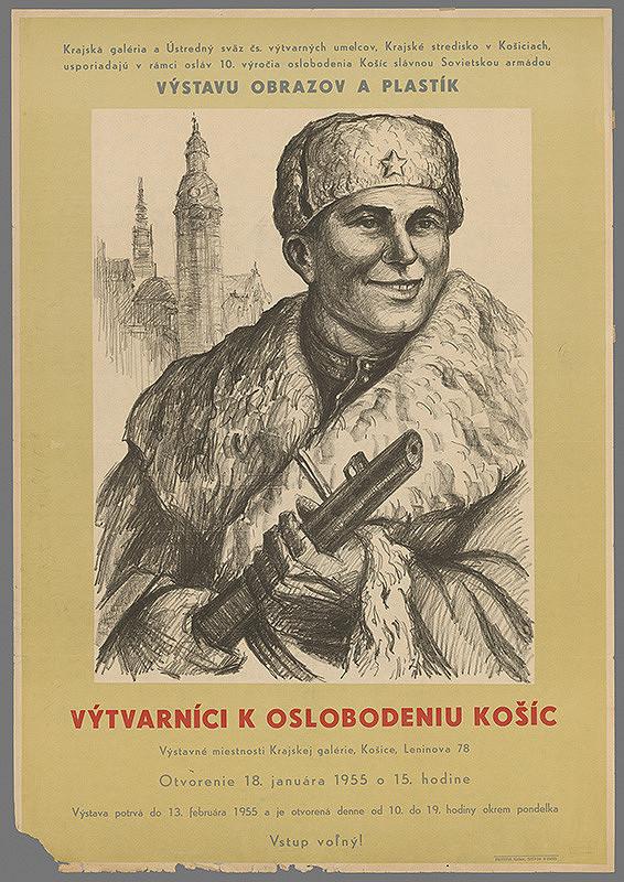 Slovenský autor – Výtvarníci k oslobodeniu Košíc