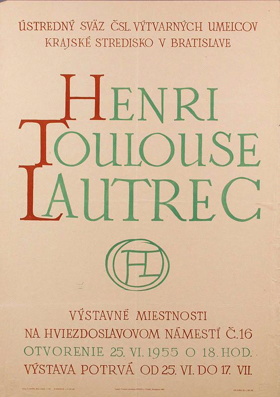 Emil Bačík - Henri Toulouse Lautrec