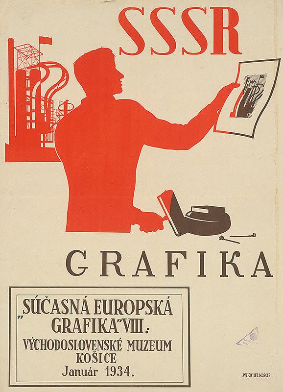 Košický autor – Súčasná európska grafika VIII - ZSSR
