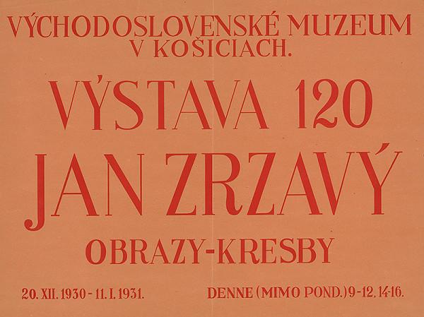 Košický autor - Obrazy,kresby - Ján Zrzavý